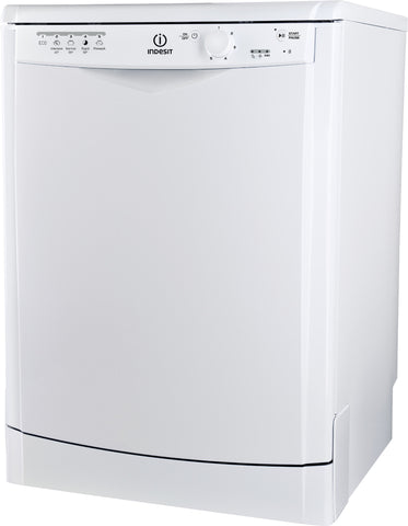 Indesit Ecotime DFG15B1 60cm Freestanding Dishwasher - White