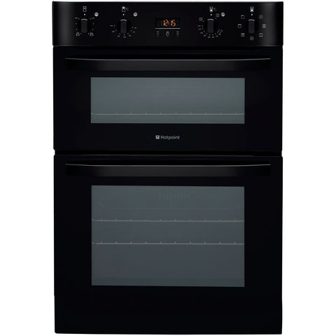 HOTPOINT DH93CK Built-in Multifunction Double Oven - Black