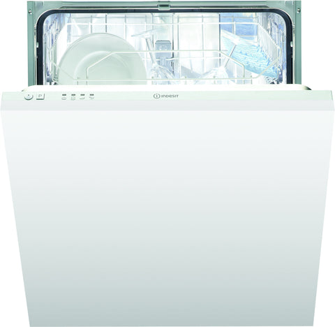 INDESIT DIF04B1 60cm Fully Intergrated Dishwasher - White