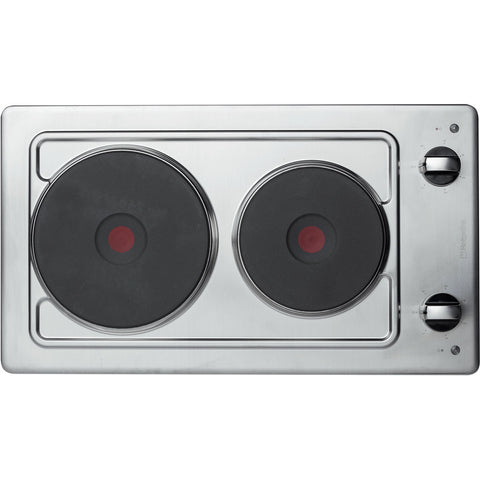 HOTPOINT E320SKIX Domino Built-in Hob - Stainless Steel
