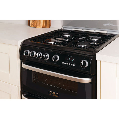 Cannon By Hotpoint CH60GCIK Cooker - Black