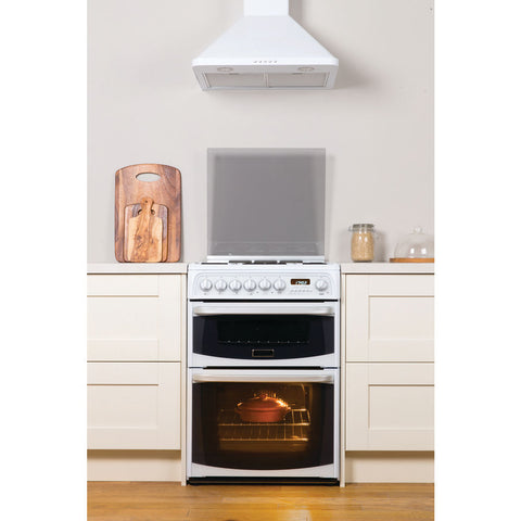 Cannon By Hotpoint CH60GCIW Cooker - White