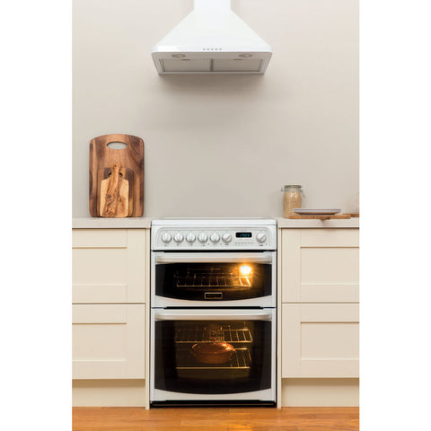 Cannon By Hotpoint CH60EKW S Cooker - White