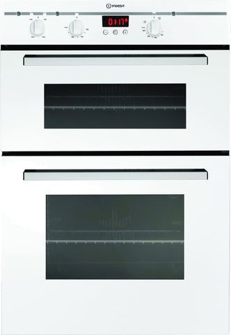 INDESIT FIMD23WHS Built-in Double Fan Oven - White