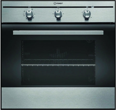 INDESIT FIM31KAIX Built-in Single Fan Oven - Stainless Steel