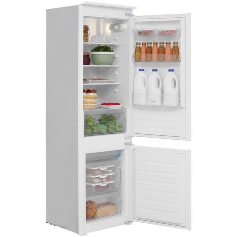 INDESIT IB7030A1D 70/30 Built In Combi Fridge Freezer - White