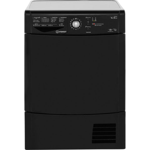 Indesit Eco Time IDCL85BHK 8kg Condenser Tumble Dryer - Black