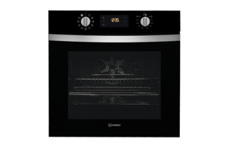 Indesit Aria IFW4844HBL Electric Single Built In Oven - Black