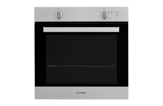 Indesit Aria IGW620IX Gas Single Built In Oven - Stainless Steel