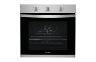 Indesit Aria KFW3543HIX Built In Single Oven - Stainless Steel