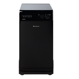 Hotpoint Aquarius SIAL 11010 K Slimline Dishwasher - Black