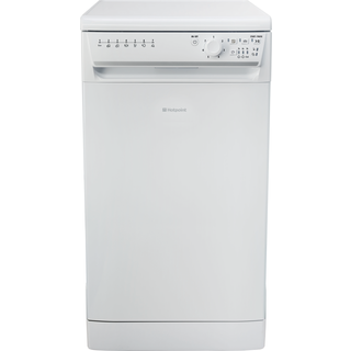 Hotpoint Aquarius SIAL 11010 P Slimline Dishwasher - White