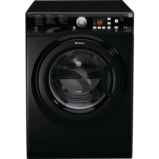 Hotpoint WDPG8640K 8Kg / 6Kg Washer Dryer with 1400 rpm - Black