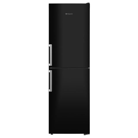 Hotpoint XECO85T2IKH No Frost Fridge Freezer in Black, 60cmW 1.89m A++