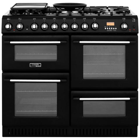 Cannon by Hotpoint CH10456GFS 100cm Dual Fuel Range Cooker - Anthracite