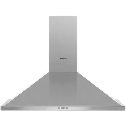Hotpoint PHPN94FAMX 90 cm Chimney Cooker Hood - Stainless Steel