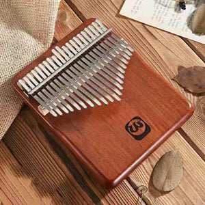 Walter 21 keys Full Solid Mahogany Wood Kalimba