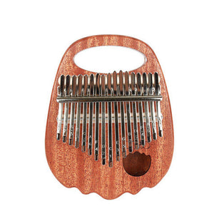 Adela Full Solid Mahogany Wood Kalimba