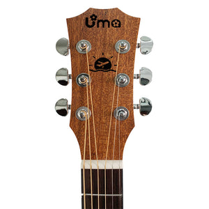 UMA Baby Mini Acoustic Travel Guitar  36 inches Wood
