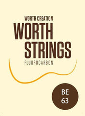 Worth Ukulele Strings Brown Fluoro-Carbon 63 inch