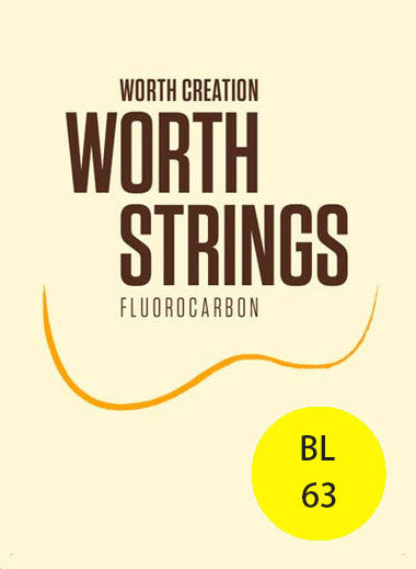 Worth Ukulele Strings Brown Fluoro-Carbon Light BL 63 inch - Ukunili Ukulele