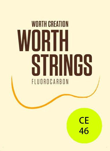 Worth Ukulele Strings Clear Fluoro-Carbon 46 inch
