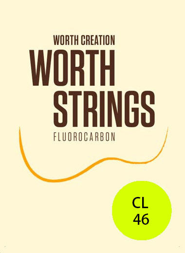 Worth Ukulele Strings Clear Fluoro-Carbon Light CL 46 inch - Ukunili Ukulele