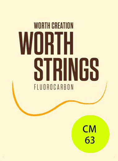 Worth Ukulele Strings Clear Fluoro-Carbon Medium CM 63 inch - Ukunili Ukulele