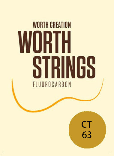Worth Ukulele Strings Clear Fluoro-Carbon Tenor CT 63 inch - Ukunili Ukulele