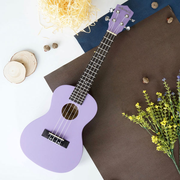Ukunili Ukulele Concert 23' Light Purple (Matte)