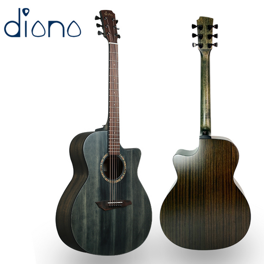 Diana 729 Acoustic Guitar 41 inches DarkPeacock
