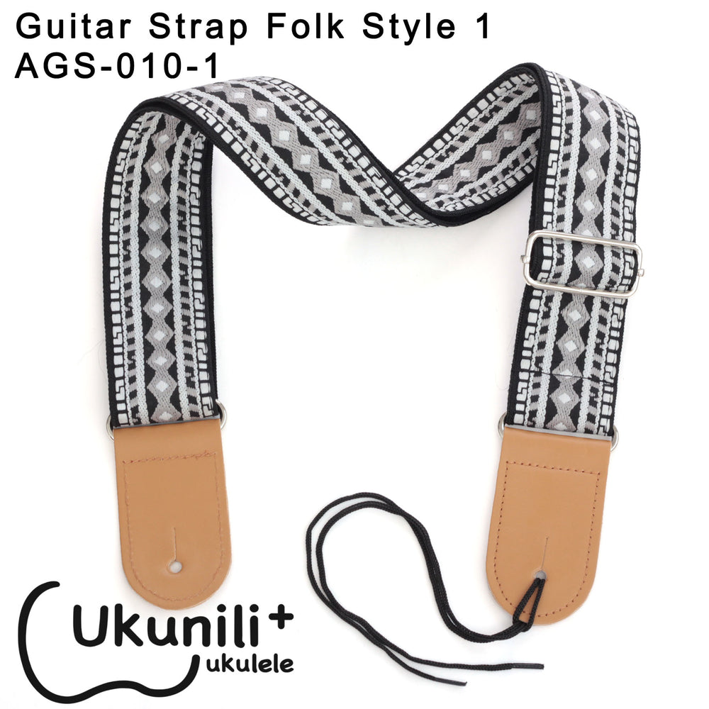 Guitar Strap Folk Style AGS-010