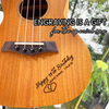 Free Engraving with Purchase an Ukulele