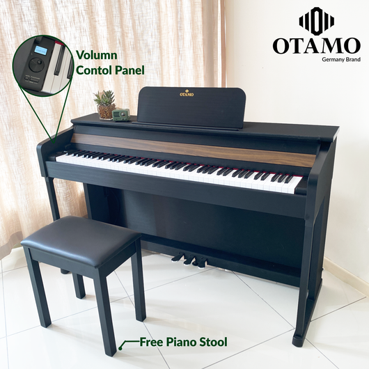 OTAMO K2 88 Keys Digital Piano[Free Piano Stool][ 2 Years Warranty]