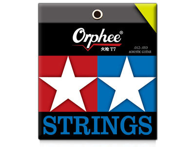 Orphee Acoustic Guitar String 6 Strings T5/6/7