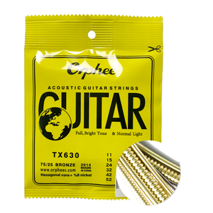 Orphee Bronze Super Light Acoustic Guitar Strings TX 620/630
