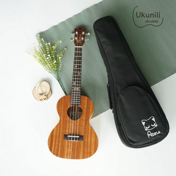 Adela Ukulele 26' Tenor Mahogany Solid Top + EQ