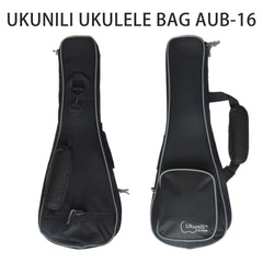 Ukulele Black Bag Size 21/23/26 AUB-16
