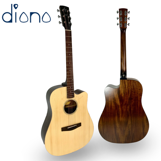 Diana 720 Acoustic Guitar 41 inches Wood