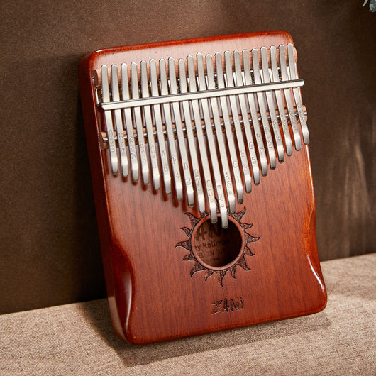 Zani Sun Retro 21 Keys Full Solid Mahogany Wood Kalimba