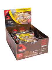 Limitless 100% Natural Whey Protein Bars