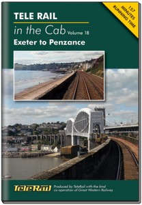 Exeter to Penzance Telerail in the Cab - Volume 18 - DVD