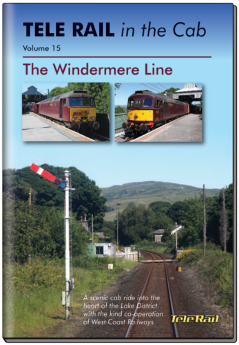 Windermere telerail in the cab 15 DVD - The Vale of Rheidol Railway