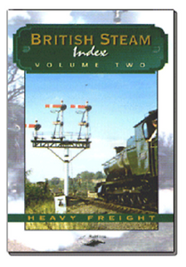 Heavy freight British Steam Index vol 2 Telerail BR DVD