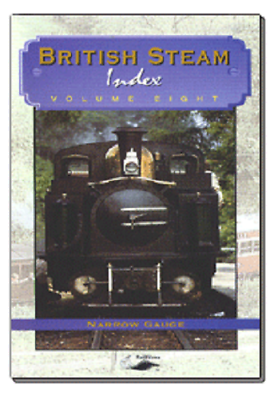 Narrow Gauge British Steam Index vol 8 Telerail BR DVD - The Vale of Rheidol Railway