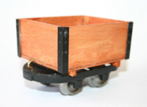 North Ings Coal tub Ip engineering 32mm 45mm END OF LINE garden railway - The Vale of Rheidol Railway