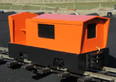 Alan Keef K40 open  Loco Kit Ip engineering 32mm 45mm END OF LINE Fendyke - The Vale of Rheidol Railway
