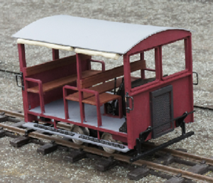 Wickham trolley IP engineering  kit 32mm 45mm SM32 LGB garden railway