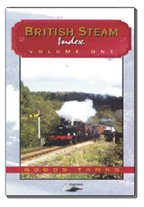 Goods Tanks British Steam Index vol 1 Telerail BR DVD