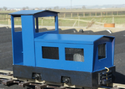 Alan Keef K80 cabbed  Loco Kit Ip engineering 32mm 45mm END OF LINE Fendyke - The Vale of Rheidol Railway